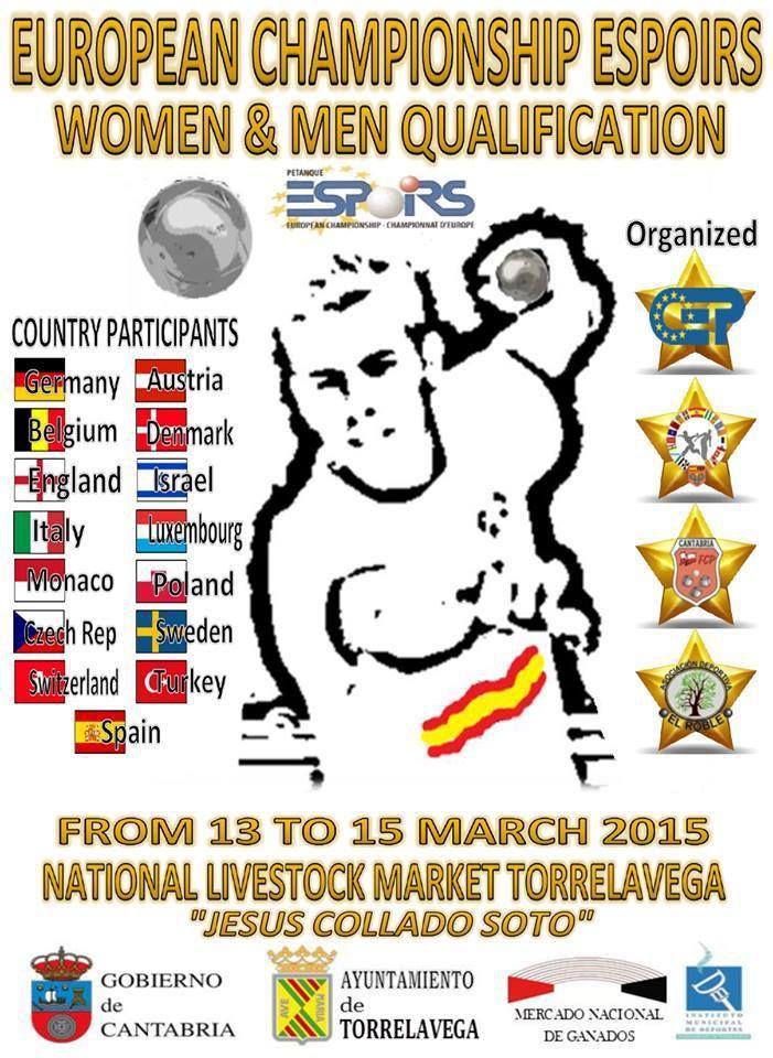 CHAMPIONNATS D'EUROPE ESPOIRS (Qualificatifs): Les Résultats intermédiaires