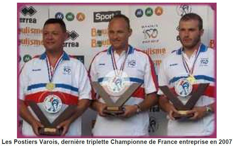 """Nos """"Partenaires"""" ont été, Champions de France !"""