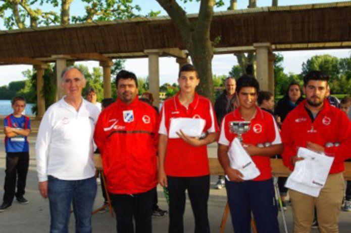 Résultats des Championnats Triplettes Jeunes du Tarn et Garonne