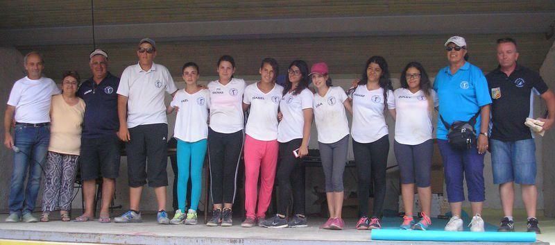 La délégation Israèlienne honnorée par les organisateurs du Concours de Pointis de Rivière