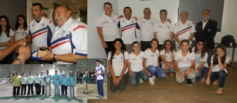Ils ont honoré, auprès des jeunes, leur maillot de CHAMPION DE FRANCE