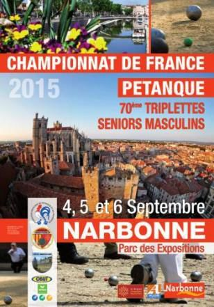 narbonne attend sa pl iade de champions pour les championnats de france triplette seniors le. Black Bedroom Furniture Sets. Home Design Ideas