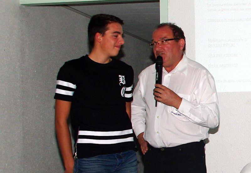 Steven BOULLERY présenté comme Ambassadeur auprès des Jeunes