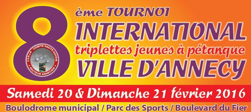 L'INTERNATIONAL D'ANNECY 2016 VA OUVRIR LE 4ème CHALLENGE EDUCNAUTE-INFOS 2016