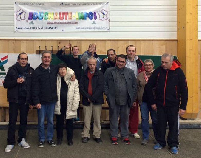 Deux charmantes éducatrice (BF2) oeuvrent pour le Sport Adapté à Lacaune