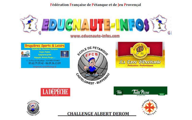 RAPPEL ET CONFIRMATION: Le Concours Jeunes de &quot&#x3B;BUFFEBIAU&quot&#x3B; à Castelginest (31) est bien programmé le Samedi 18 Juin !!!