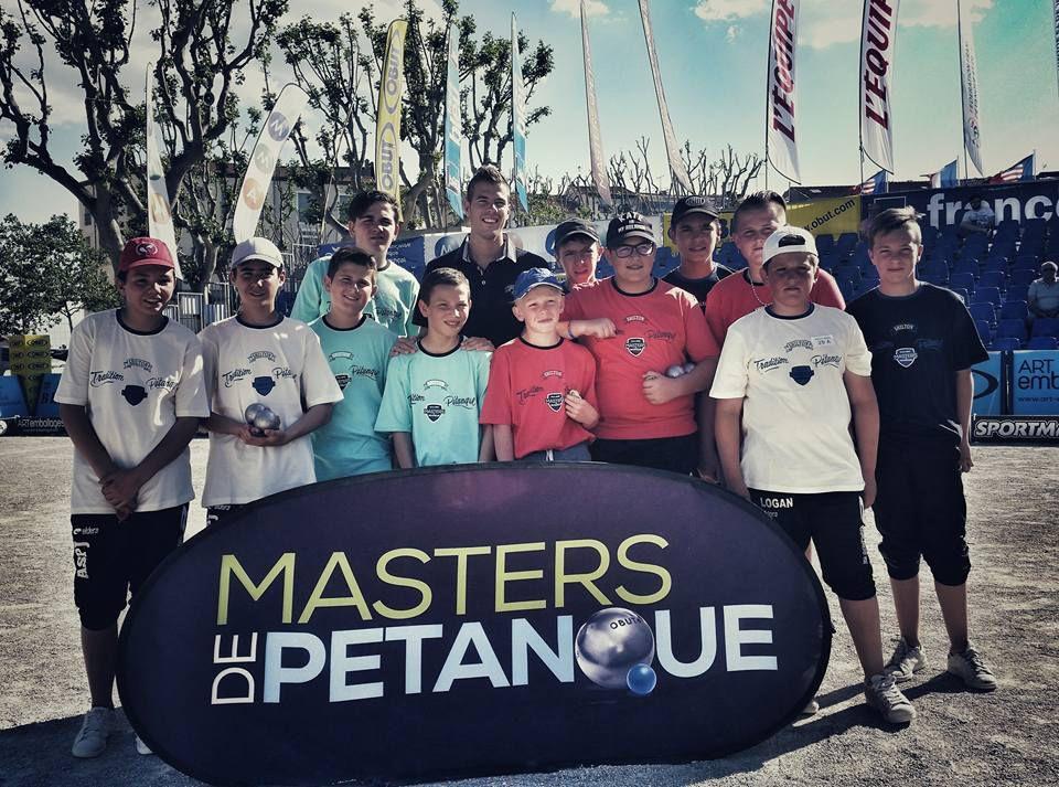"""MASTERS JEUNES 2016 Etape N° 1: Les Vainqueurs des MASTERS JEUNES 2015, """"frappent"""" d'entrèe à Béziers !!!"""