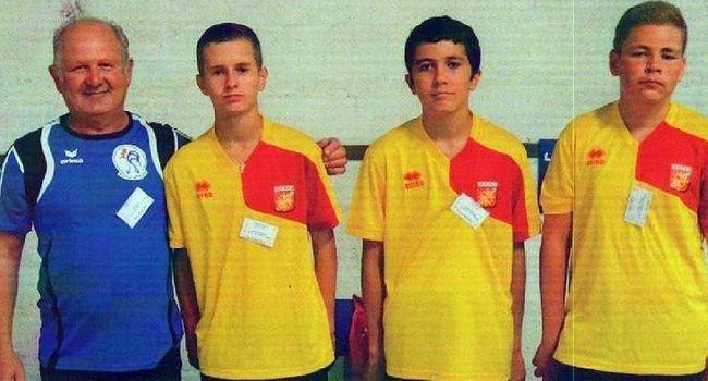 L'équipe des cadets, composée de Vincent Rochas, Doran Martin et Anthony Bergon, a réalisé de bonnes performances aux championnats de France jeunes.