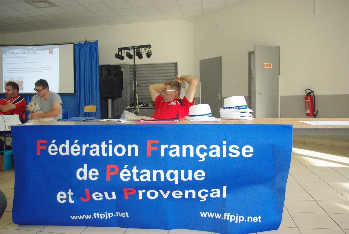 EDUCNAUTE-INFOS a réuni ses adhérents en Assemblée Générale élective à MARSEILLAN (34)