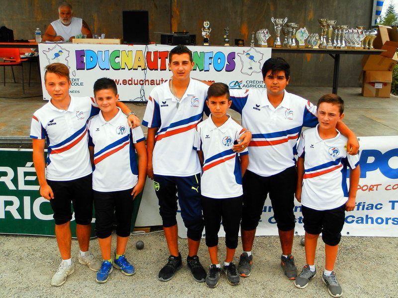 La pétanque chez les jeunes en occitanie