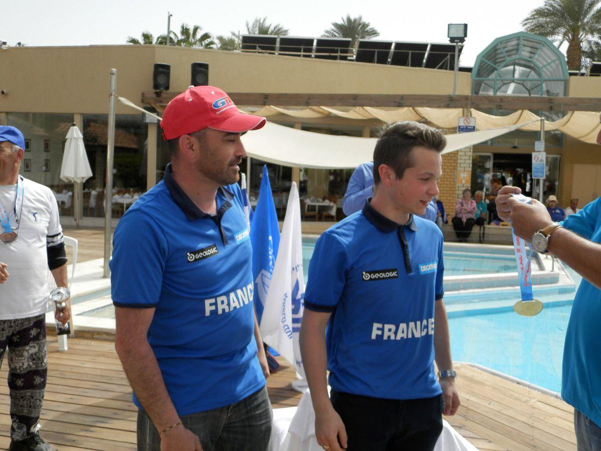 THOMAS GODARD ET FRANCK FERRANDO décroche la victoire de l'International d'Eilat &quot&#x3B;ISRAËL&quot&#x3B;