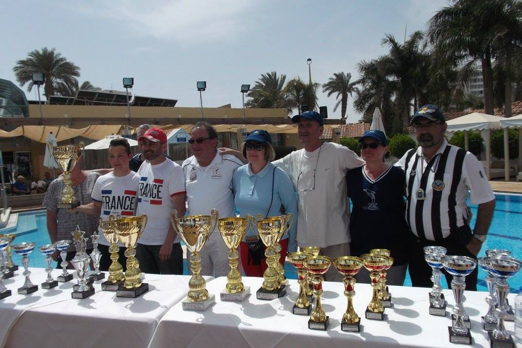 La  Vidéo de la Victoire à Finale de l'International de EILAT en ISRAËL de l'équipe Thomas GODARD et Franck FERRANDO