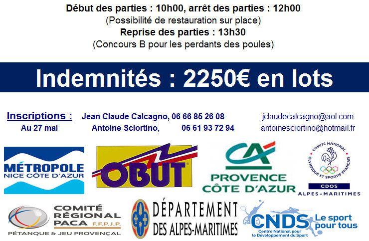 Le CD 06 organise la IXème étape du Challenge EDUCNAUTE-INFOS à NICE