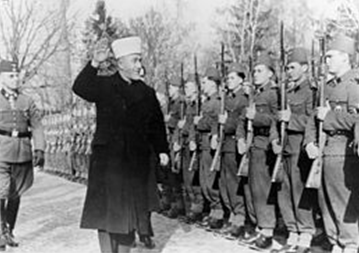 Oui, l'islam a pris part à seconde guerre mondiale en faveur des nazis d'Hitler et dans la SS.