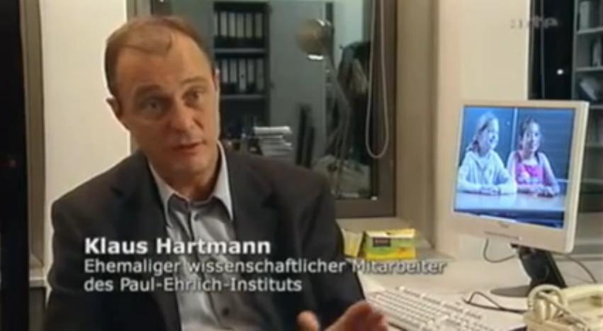 Le message de Klaus Hartmann est clair: on a menti au public sur les véritables raisons du retrait du marché du vaccin Hexavac préférant faire croire aux parents à une inefficacité plutôt qu'à une dangerosité du produit