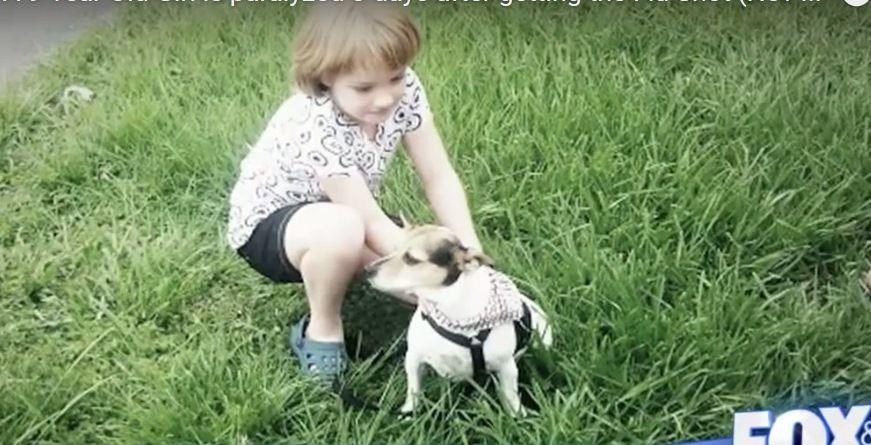 Petite fille de 9 ans paralysée 3 jours après le vaccin contre la grippe : &quot&#x3B;un des pires cauchemars !&quot&#x3B;