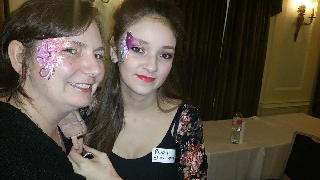 Ruby Shallom avec sa mère avant le HPV