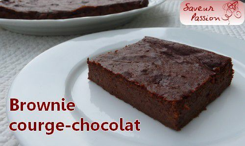 Brownie potimarron-chocolat
