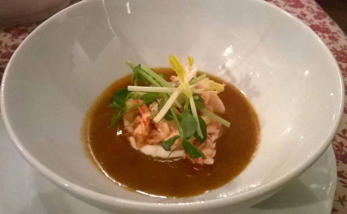 Voyage gastronomique à la Petite Maison de Cucuron et menu &quot&#x3B;Jules Gouffé&quot&#x3B;