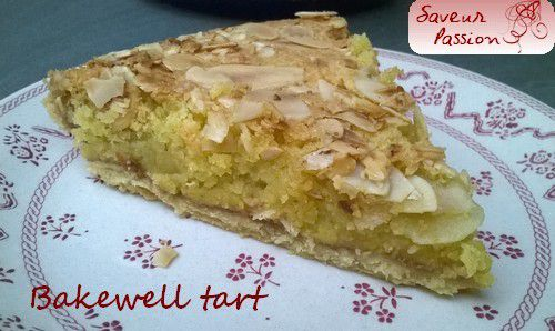 Bakewell tart, gourmandise made in England