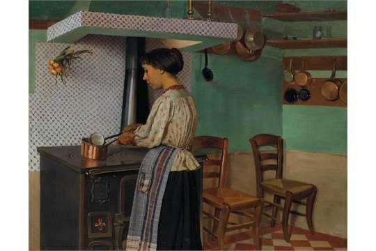 La cuisinière, Félix Vallotton