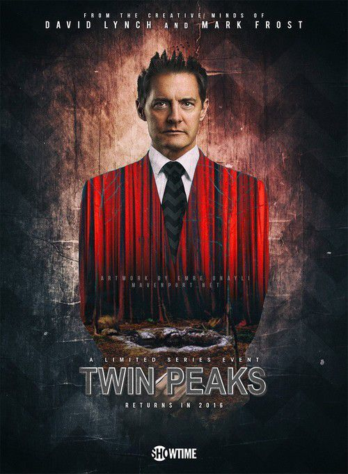 "Menu ""Twin Peaks"" (1) :  damn good coffee ! Cookies Twin Peaks et pancakes, sirop d'érable, jambon"