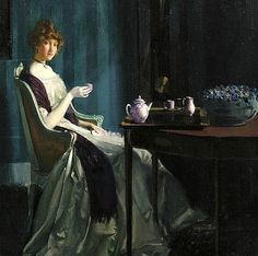 Charles Bittinger Afternoon Tea 1912
