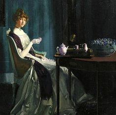 Charles Bittinger Afternoon Tea 1912