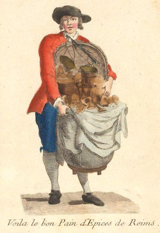 Le marchand de pain d'épices de Reims (1774)