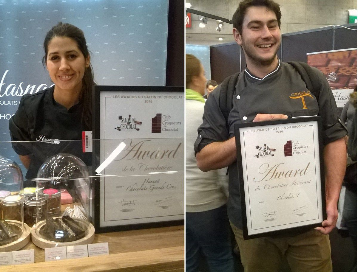 Awards Club des Croqueurs de Chocolat - Salon du Chocolat, Paris