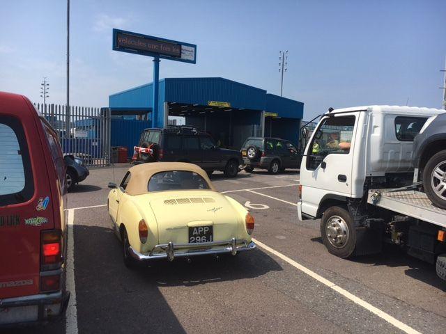 Road trip : Londres / Limoges en Karmann Ghia