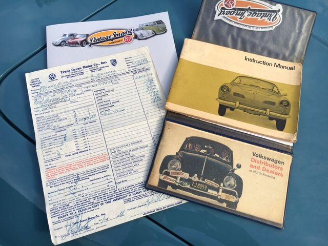 Livraison: Karmann Ghia 1967