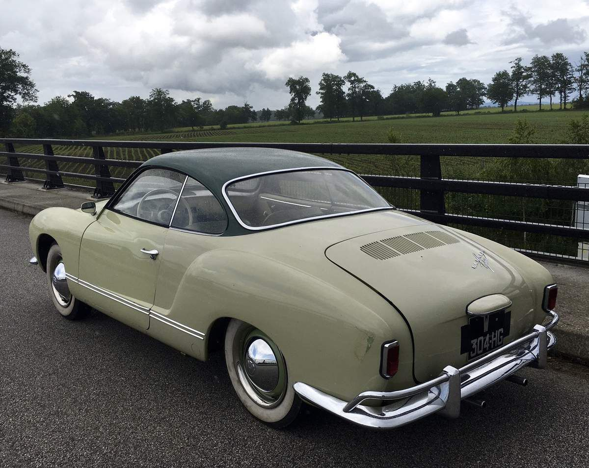 Thursday test drive : Karmann Ghia Low Lights