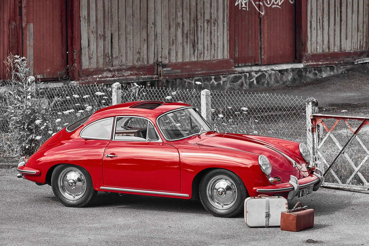 a vendre porsche 356 b toit ouvrant. Black Bedroom Furniture Sets. Home Design Ideas