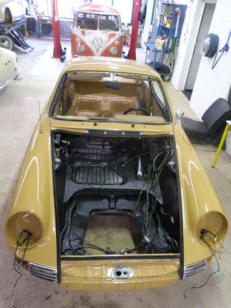 Livraison Porsche 912 / 1965