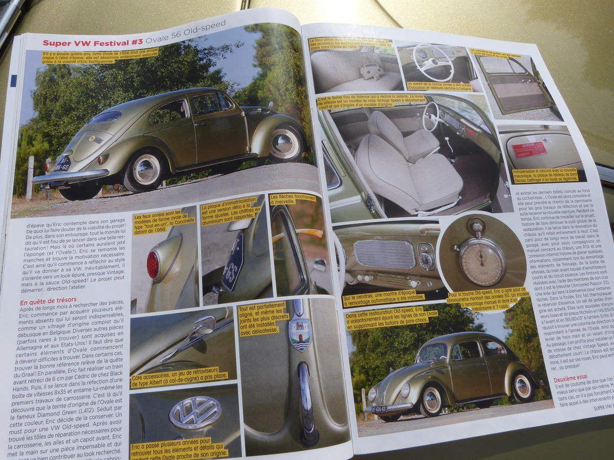 A VENDRE : VW Cox Ovale 1956 &quot&#x3B;Old Speed&quot&#x3B;