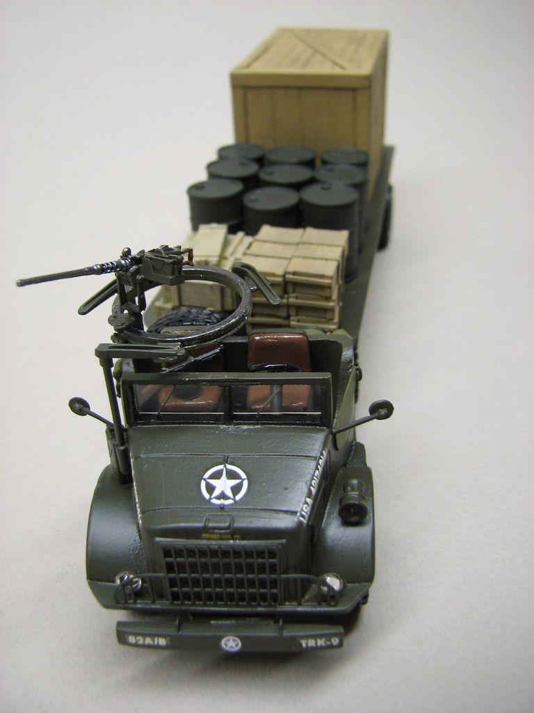 Tracteur International M426 avec semi-remorque (par Florent V. pour Robert)
