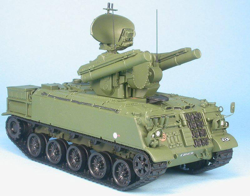 AMX 30 Roland au 1/48 (Master Fighter)