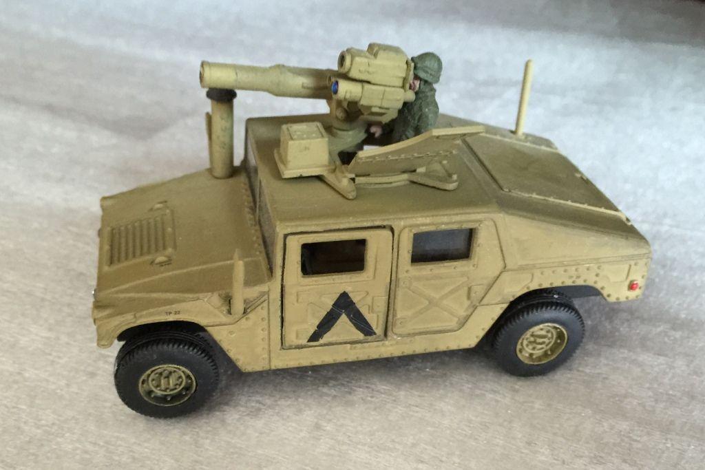 AMG M998 et M966A1 Hummer au 1:48 (Classic Armor)