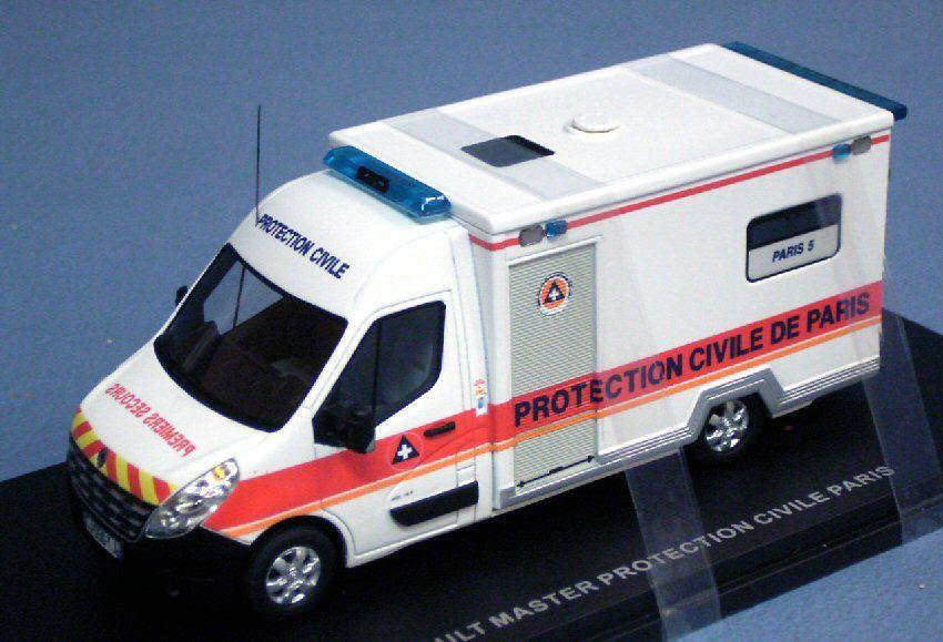 Renault Master VASV au 1/43 (Alerte et Perfex)
