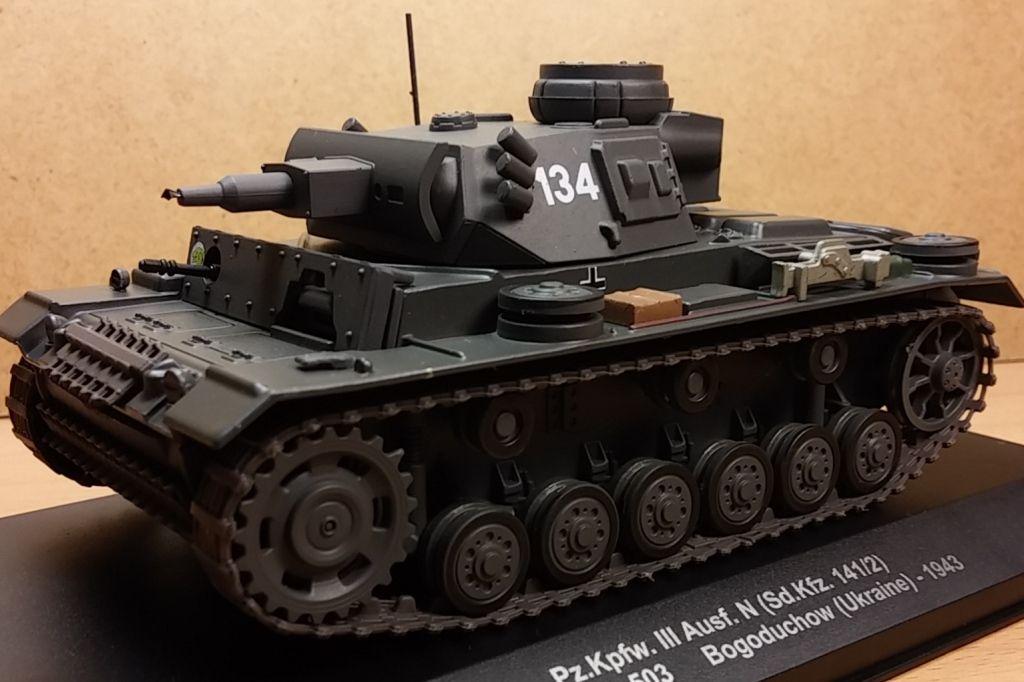 Panzer III Ausf. L et Ausf. N au 1/43ème (Eagle Moss)