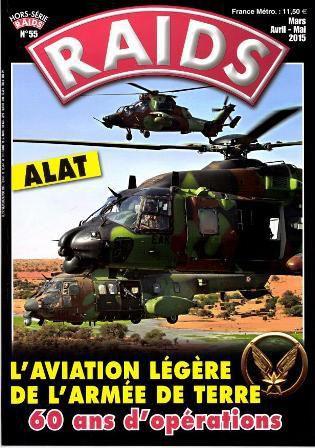 Magazine Raids - Hors série n° 55 : l'aviation légère de l'armée de terre