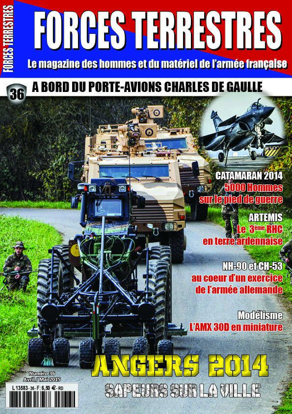 Forces Terrestres n° 36 (Avril-mai 2015)