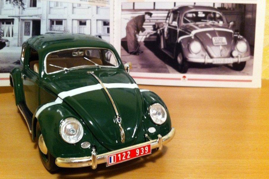 Modif : Volkswagen Coccinelle des FFA au 1:18