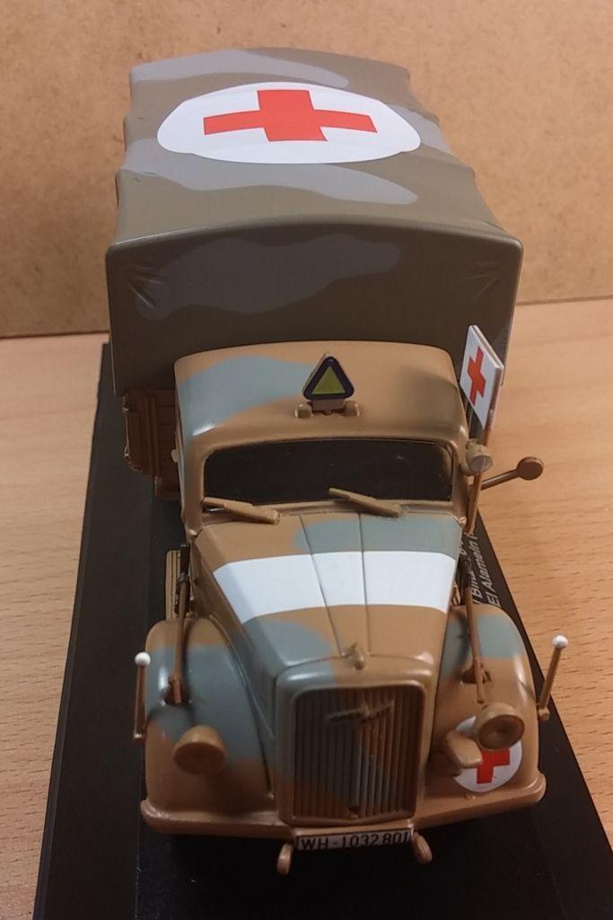 Opel Blitz au 1/43ème (Editions Atlas et Eagle Moss)