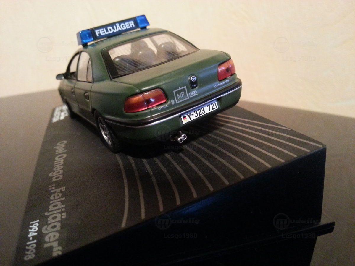 "Opel Omega ""FeldJaëger"" au 1:43 (Eagle Moss/Ixo)"