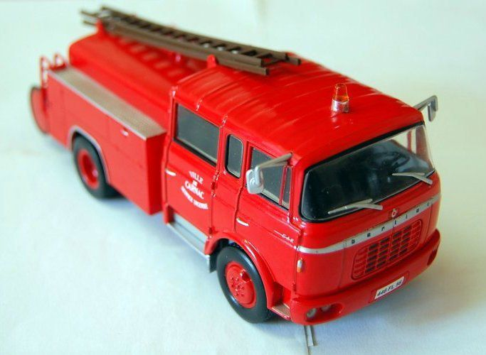Berliet GAK17 FPT au 1/43 (Hachette-Collections)