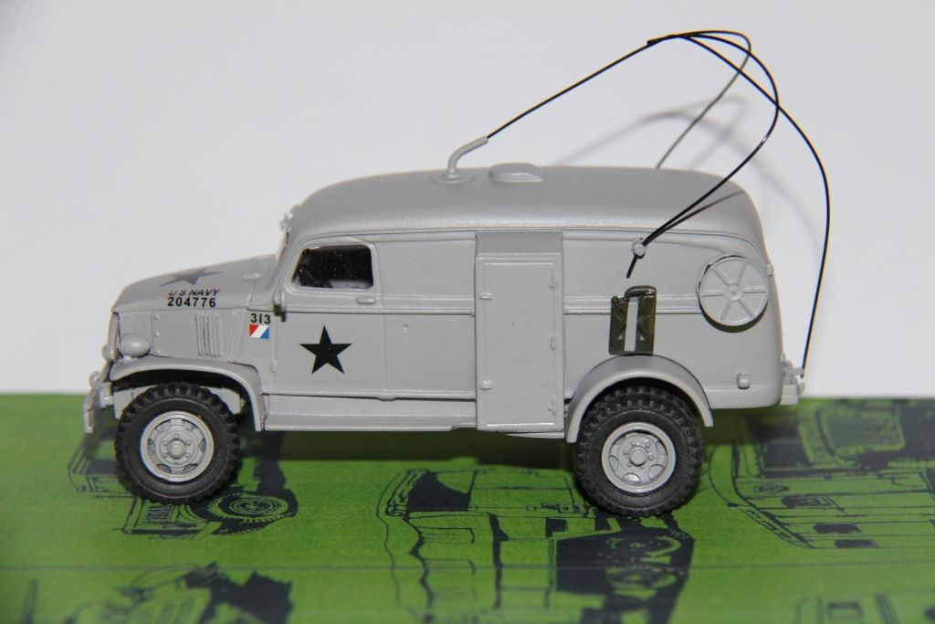Chevrolet K51 radio de l'US Army au 1/48ème (HartSmith pour Angego)