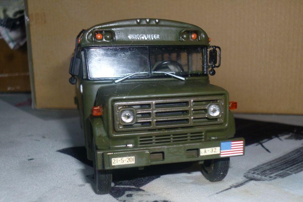 Modif : autocar GMC S 6000 de l'US Army (par Jean-François)
