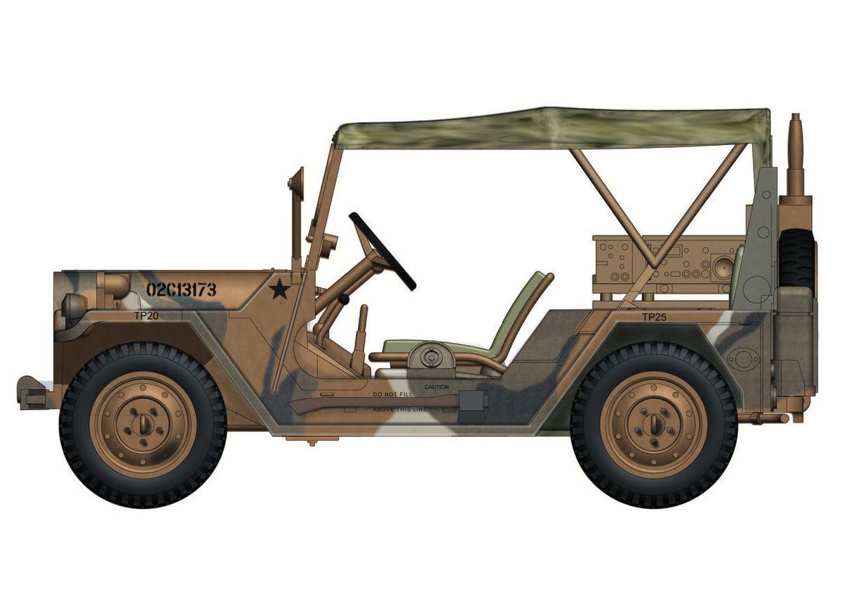 M151 A2 Mutt au 1/48 (Hobby Master)